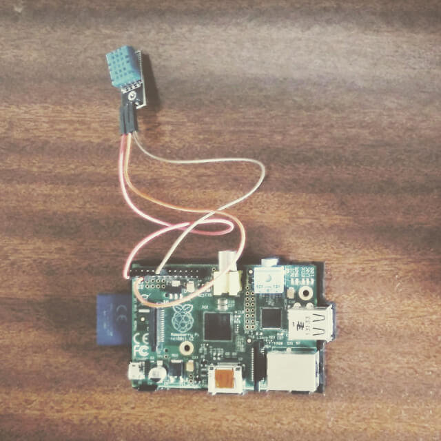 How to create a connected mini weather station using a